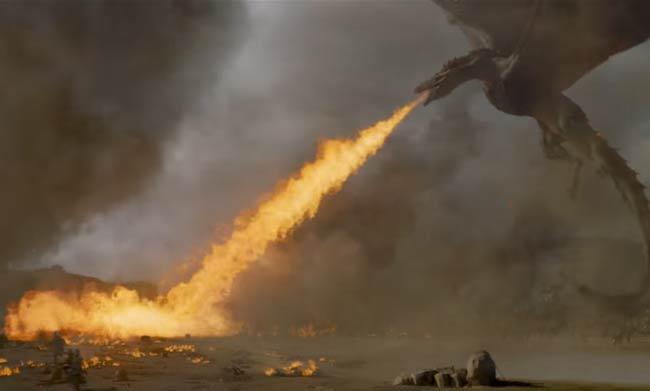 Daenerys Targaryen dragon